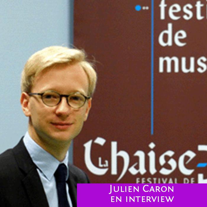 Julien Caron directeur de la Chiaise Dieu sur Variance FM