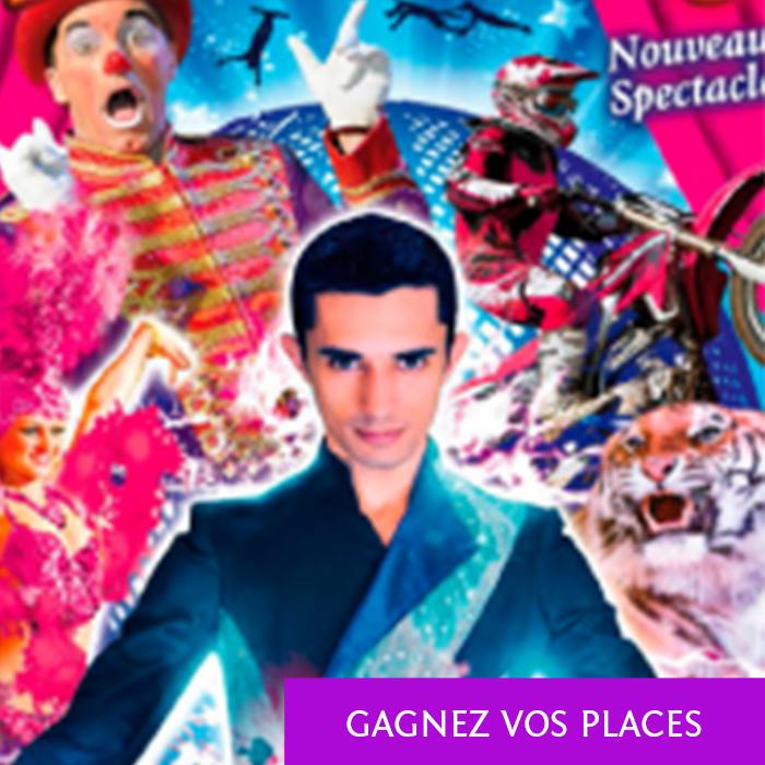 Gagnez vos places pour le cirque Medrano ce samedi sur Variance FM