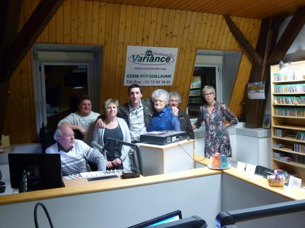De nombreux invités à Variance FM