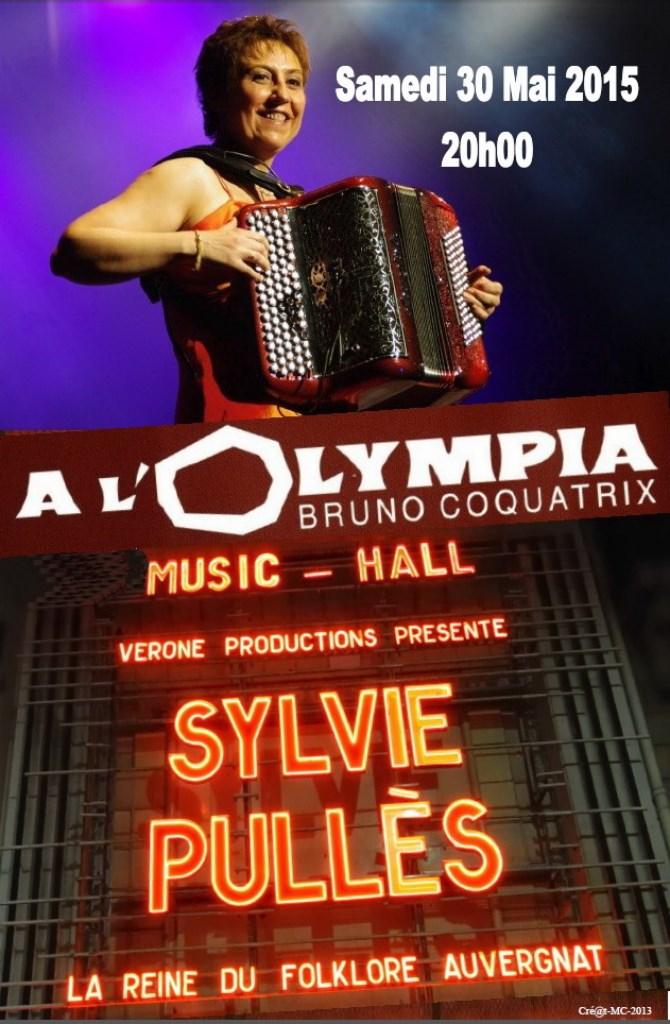 Sylvie Pullès en concert à l'Olympia à Paris