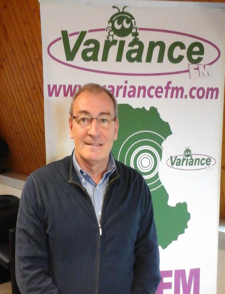 Pierre AGULHON, président de la Prévention Routière de Clermont Ferrand à Variance FM