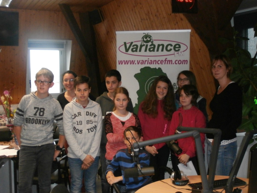 Le Club Radio du Collège Audembron à Variance FM