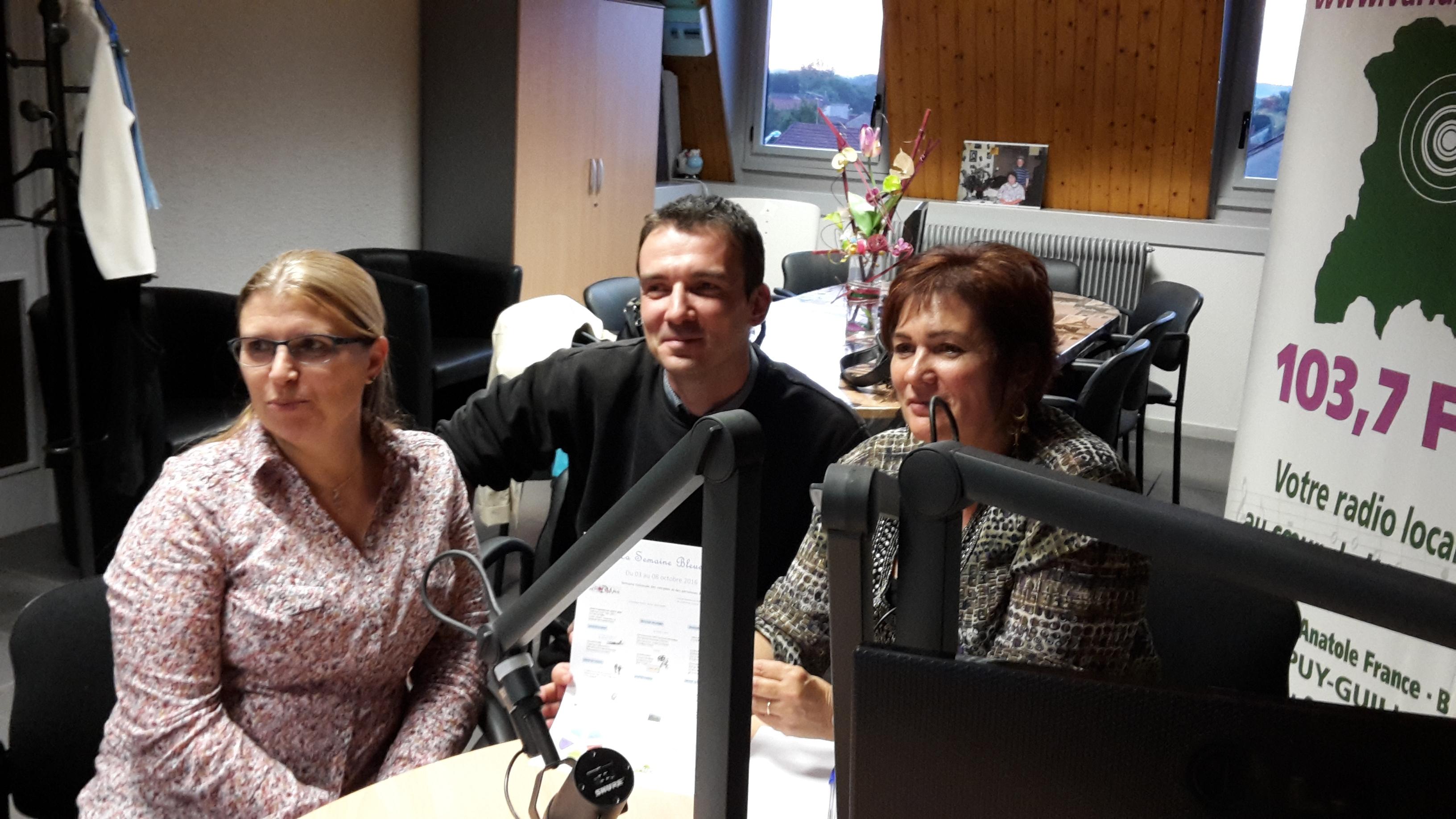 Pépita RODRIGUEZ & Isabelle PASQUIER sur Variance FM
