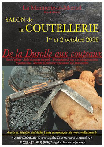 Salon coutelier De la Durolle aux couteaux
