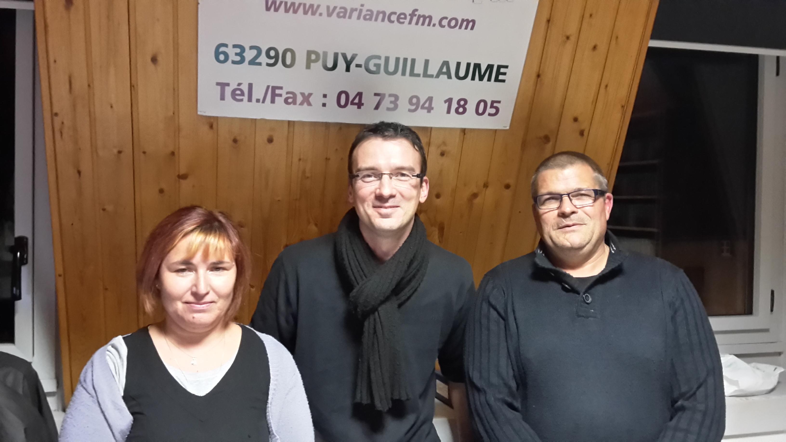Le comité d'Animation de Châteldon à Variance FM