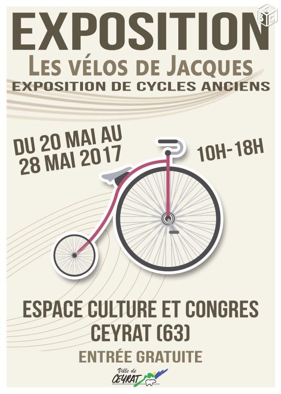 Le musée éphémère de l'association Les Vélos de Jacques