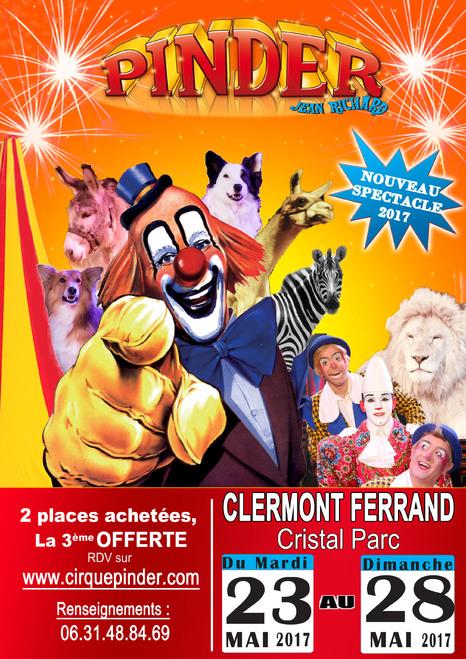 Gagnez vos place pour le cirque Pinder