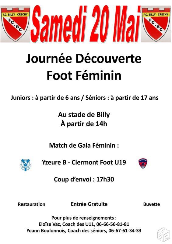 Journée Découverte Foot Féminin