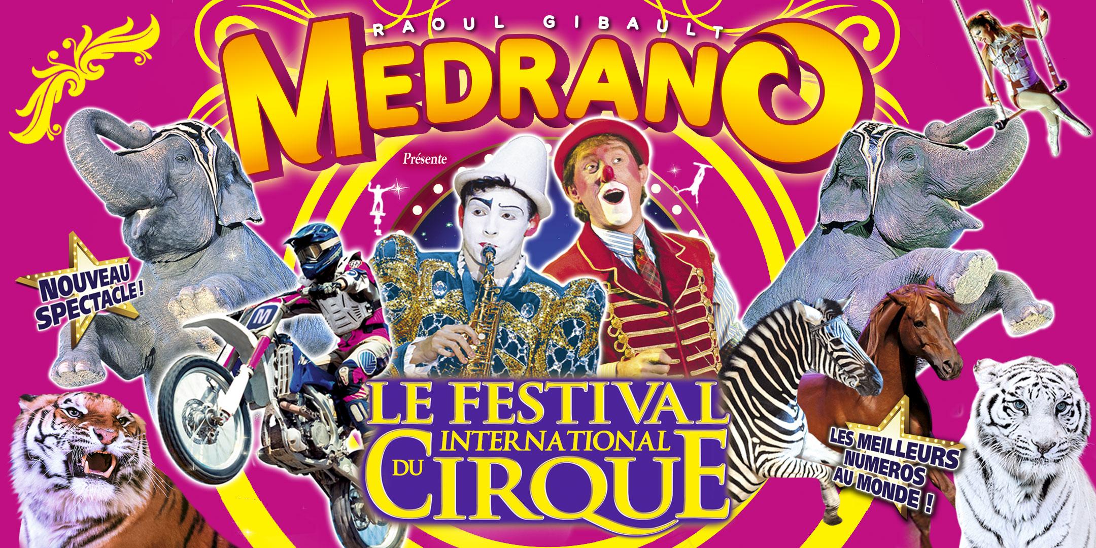Cirque Médrano : Gagnez vos places