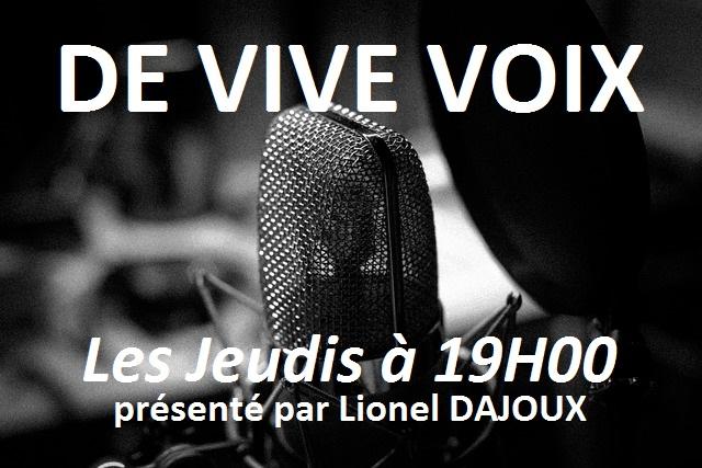 De Vive Voix le jeudi 28 Octobre 2017