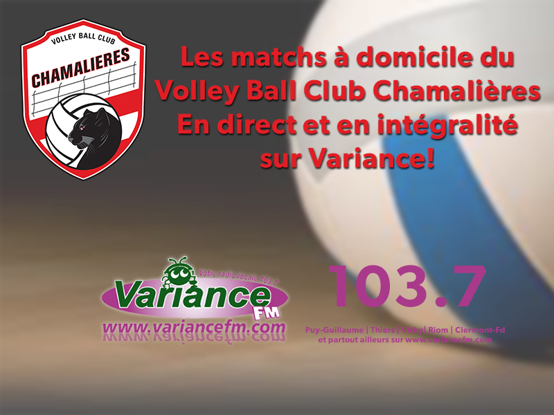match du Volley-ball Club de Chamalières contre Nantes