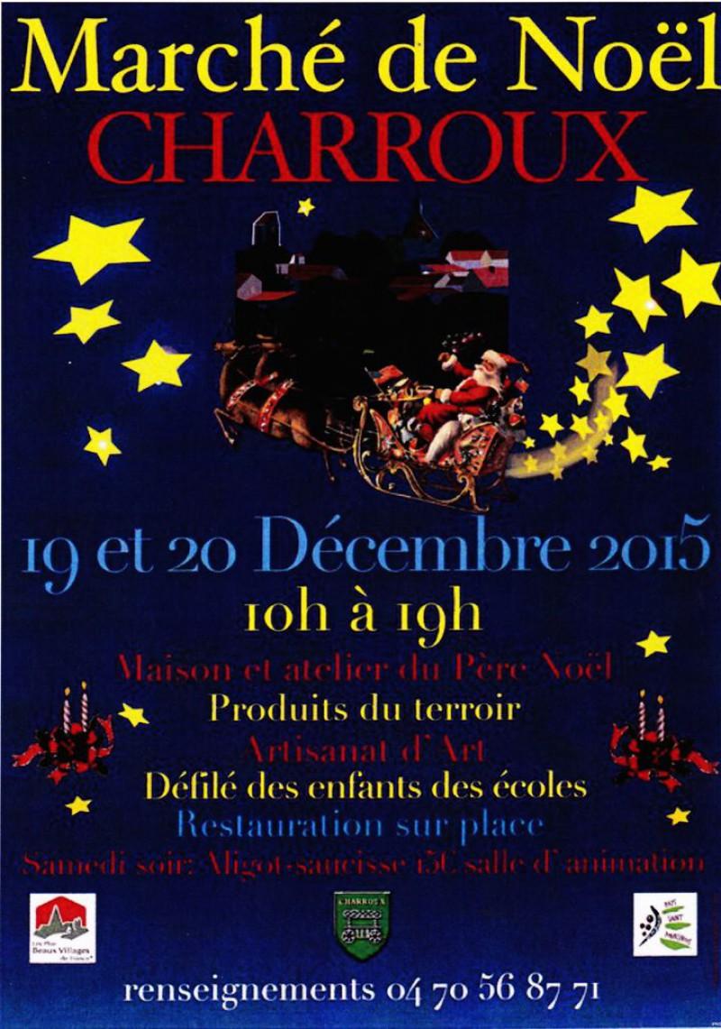 Marché de Noël CHARROUX – Variance FM