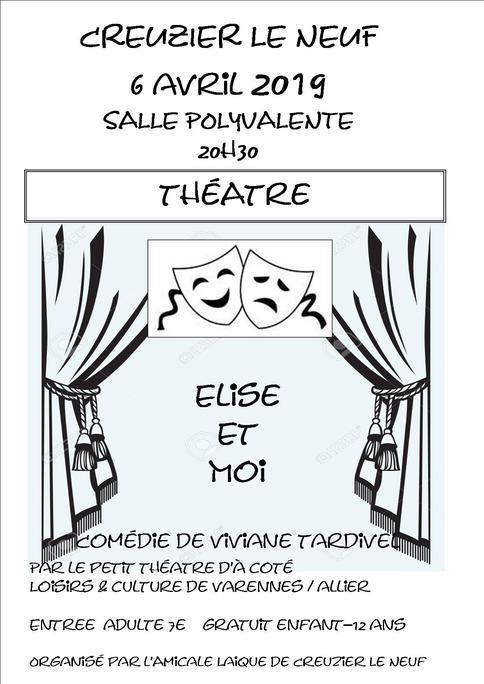 Le petit théâtre d'à côté à Creuzier le Neuf