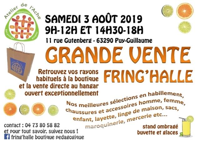 Grande vente d'été à Puy-Guillaume