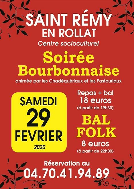 Soirée Bourbonnaise